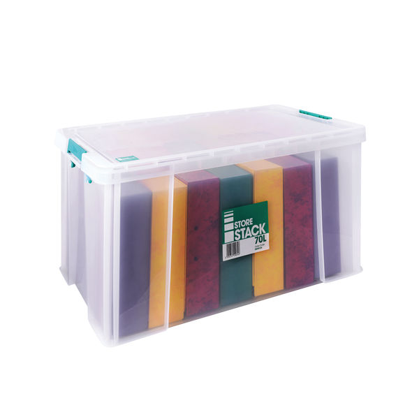 StoreStack 70L Storage Box with Lid - S20W700VW