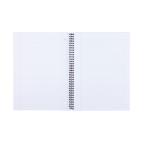 Staples Ruled Wirebound Notebook 160 Pages A4+ 70gsm White 400110505