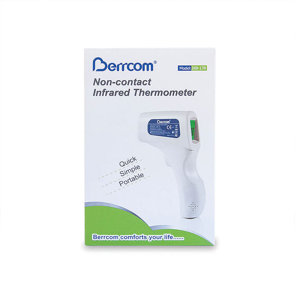 Infrared Thermometer Contactless White 8105