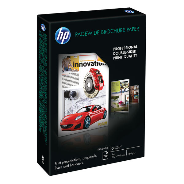 HP White A4 PageWide Pro GL Paper, Pack of 200 | Z7S67A
