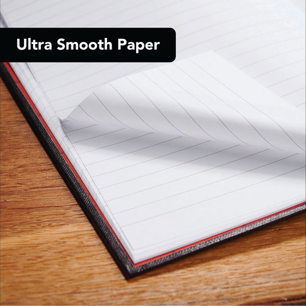 Black n' Red A4 Hardback Casebound Notebooks, Pack of 2- 400155360