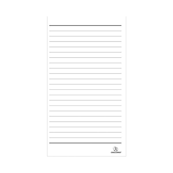 Challenge Carbonless Duplicate Ruled Book,100 Slips (Pack of 5) - E63031
