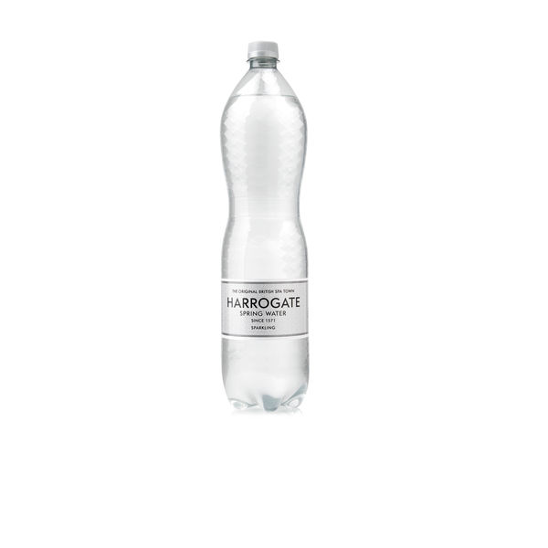 Harrogate Spa Sparkling Spring Water 1.5l Bottles - Pack of 12 - HSW35118