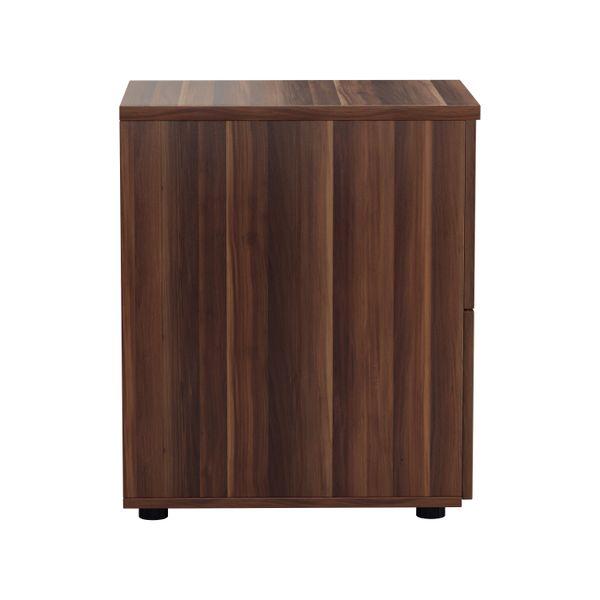 Jemini 710mm Walnut 2 Drawer Filing Cabinet