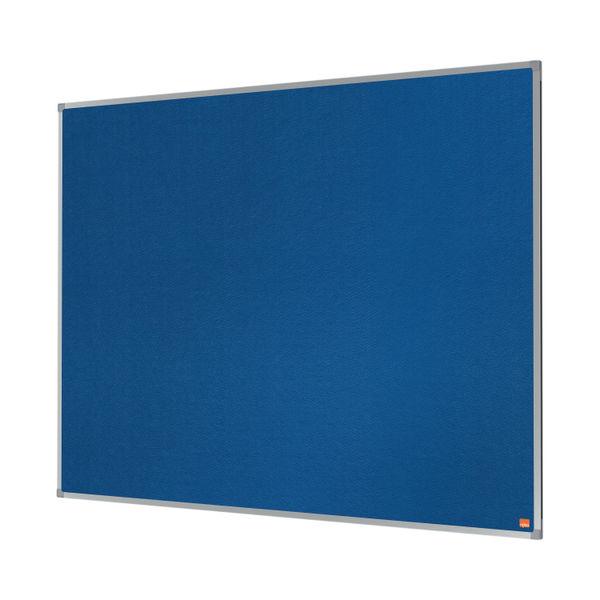 Nobo Essence Felt Notice Board 1200 x 900mm Blue 1904071