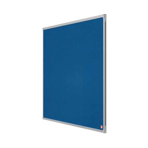 Nobo Essence Felt Notice Board 900 x 600mm Blue 1915203