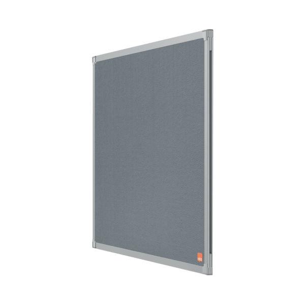 Nobo Essence Felt Notice Board 1200 x 900mm Grey 1915206