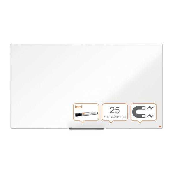 Nobo Impression Pro Widescreen Enamel Magnetic Whiteboard 1220 x 690mm 1915250