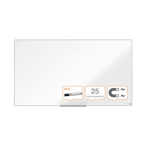 Nobo Impression Pro Widescreen Steel Magnetic Whiteboard 890 x 500mm 1915254