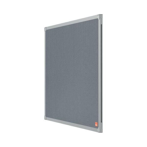Nobo Essence Felt Notice Board 1800 x 1200mm Grey 1915440