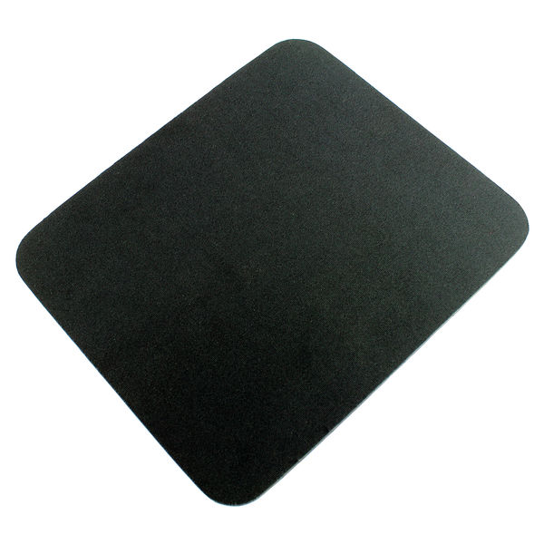 Q-Connect Black Economy Mouse Mat | 29702