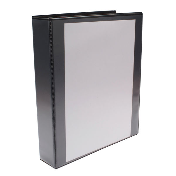 Black A4 40mm 4 D-Ring Presentation Binders (Pack of 10) - WX01332