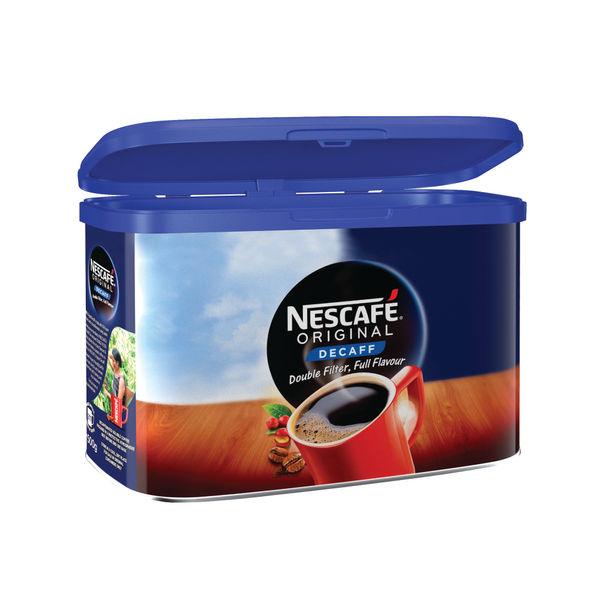Nescafe Original Decaffeinated Instant Coffee 500g Tin