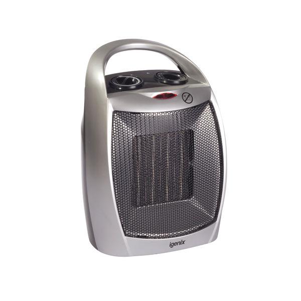 1.8kW PTC Ceramic Fan Heater Silver IG9030