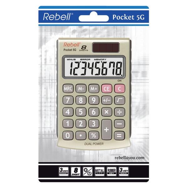 Rebell 5G Pocket Calculator - RE-POCKET 5G