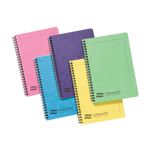 Europa Assorted Colours A5 Notemakers - Pack of 10 - 3155
