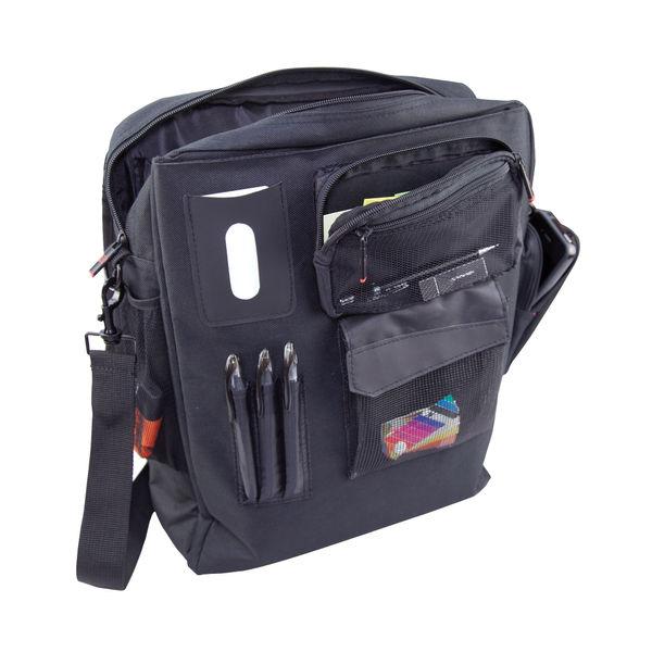 Monolith Multifunctional Nylon Laptop Backpack Black and Grey 2399