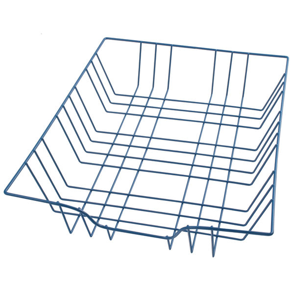 Blue A4 Wire Letter Tray - 999BL