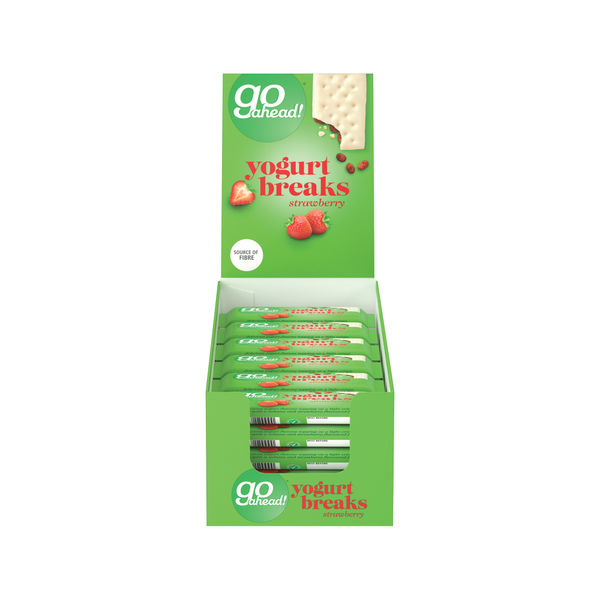 Go Ahead Strawberry Yoghurt Breaks, Pack of 24 | 11300