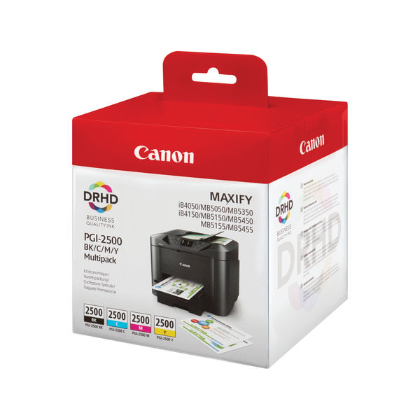 Canon PGI-2500 Black and Colour Ink Multipack - 9290B004