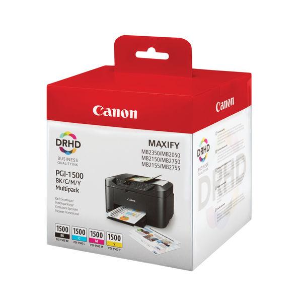 Canon PGI-1500 CMYK Ink Cartridge Multi-Pack 9218B005