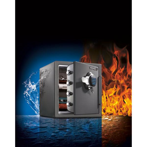 Master Lock 120 Fire-Safe Water Resistant XL 34.8 Litres Black LTW123GTC