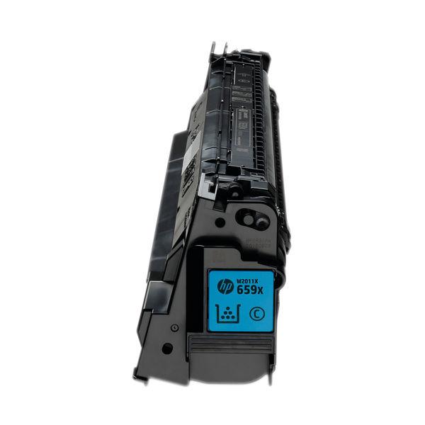 HP 659X LaserJet Toner Cartridge High Yield Cyan W2011X