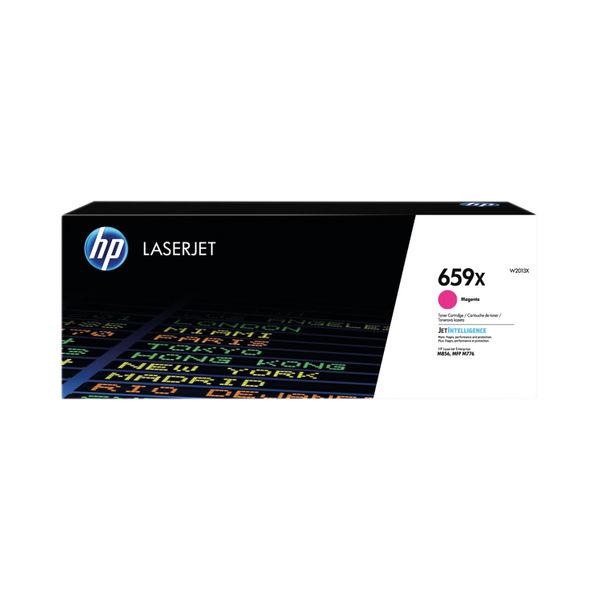 HP 659X LaserJet Toner Cartridge High Yield Magenta W2013X