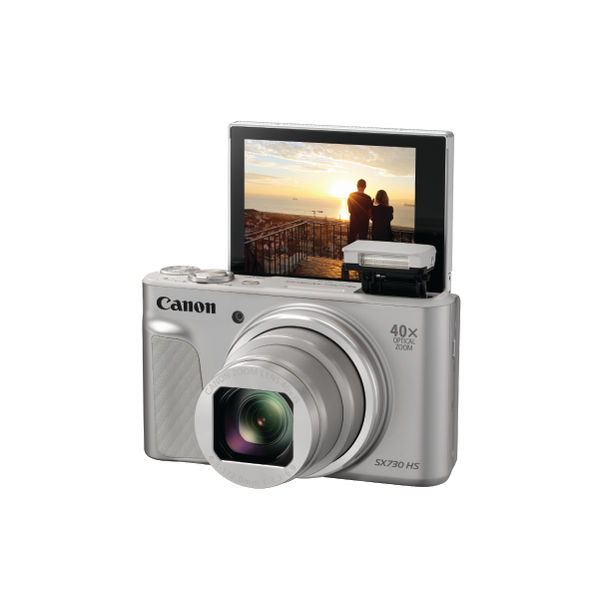 Canon PowerShot SX730 HS Digitial Camera Silver 1792C011AA