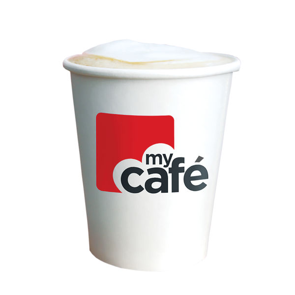 MyCafé 8oz Single Wall Hot Cups, Pack of 50 | MYC77614
