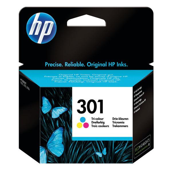 HP 301 Tri Colour Ink Cartridge | CH562EE