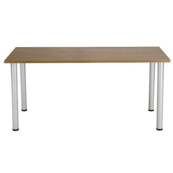 Jemini 1200mm Walnut Rectangular Meeting Table