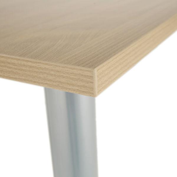 Jemini 1600mm Maple Rectangular Meeting Table