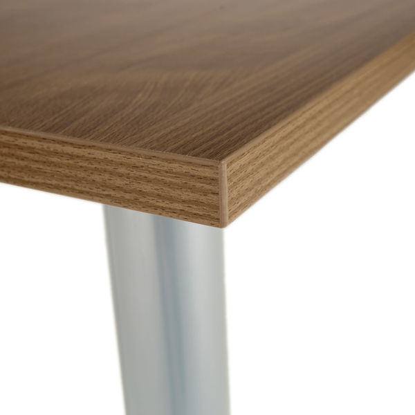 Jemini 1600mm Walnut Rectangular Meeting Table