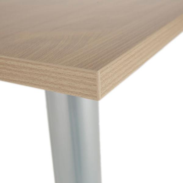 Jemini 1600mm Grey Oak Rectangular Meeting Table