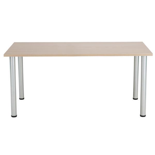 Jemini 1800mm Grey Oak Rectangular Meeting Table
