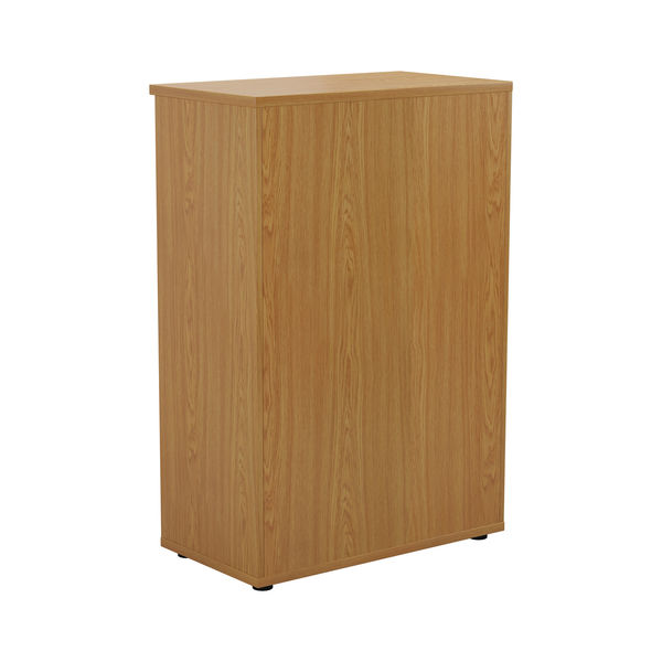 First 1200mm Nova Oak Wooden Bookcase