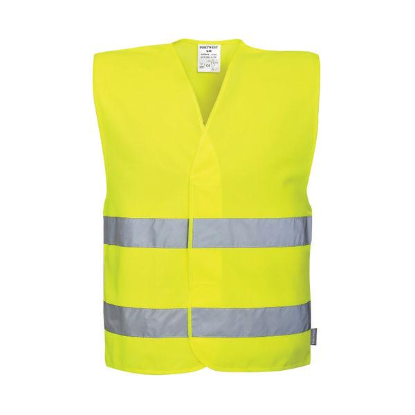 Hi-Vis Social Distancing Vest 2m 2XL/3XL Yellow C406 2XL/3XL