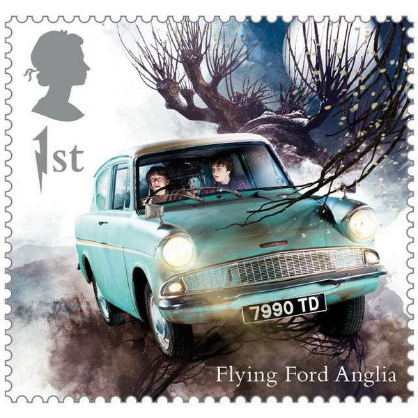 1st Class Stamps x50 (Self Adhesive Stamp Sheet) - Harry Potter Stamp Sheet A