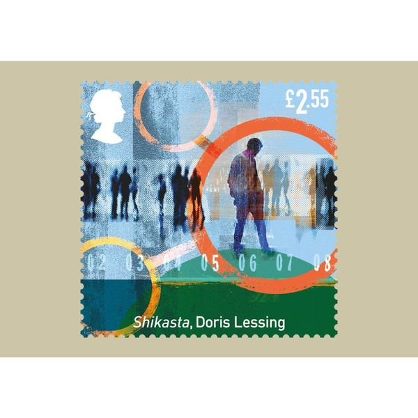 Classic Science Fiction Stamp Card Pack