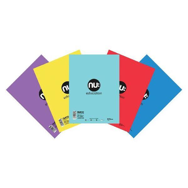 Nu Education Scrapbook A4 Plus Assorted (Pack of 50) NU602004