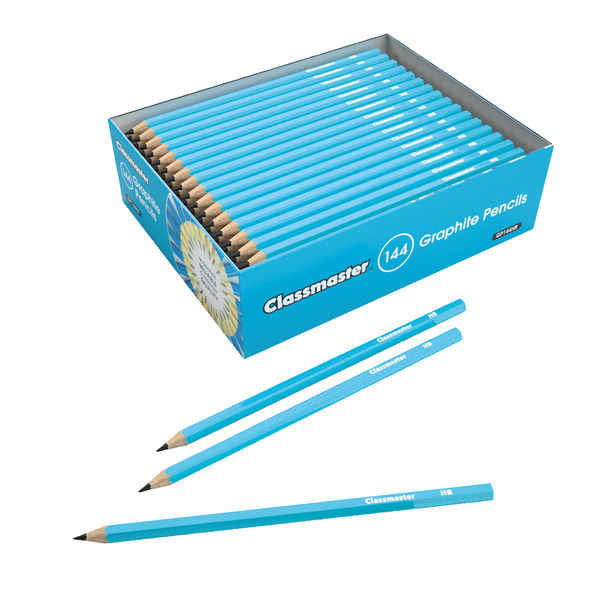 Classmaster HB Pencils, Pack of 144 - GP144HB