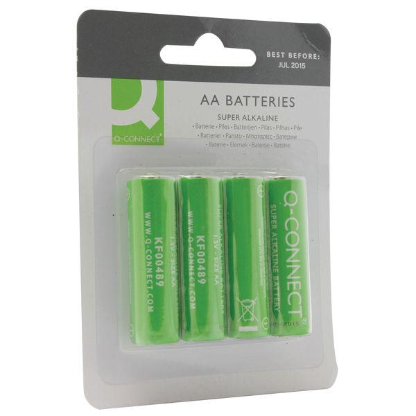 Q-Connect AA Super Alkaline Batteries - KF00489