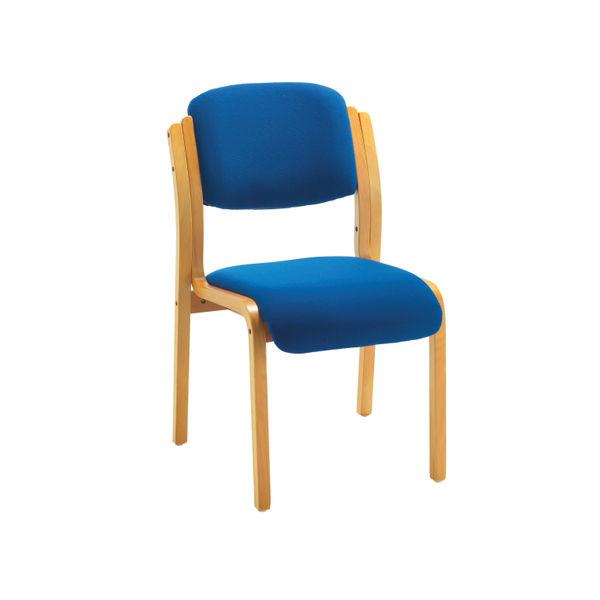 Jemini Blue Wood Frame Side Chair