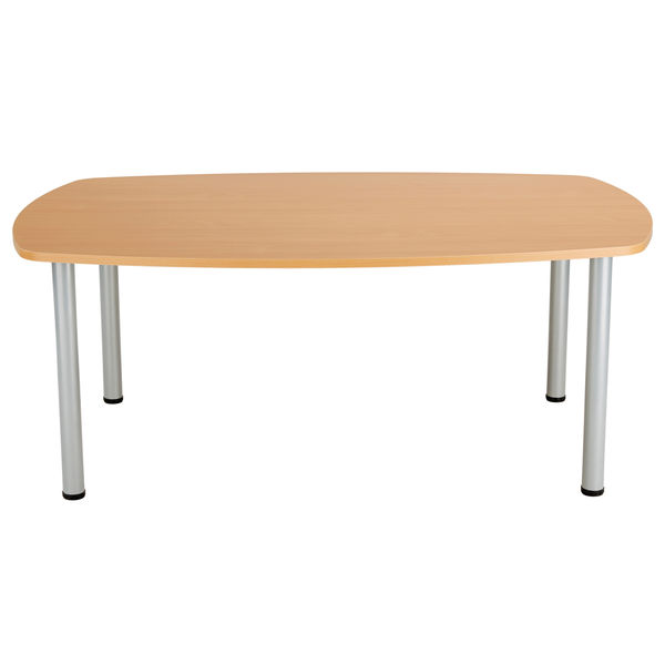 Jemini 1800mm Beech Boardroom Table