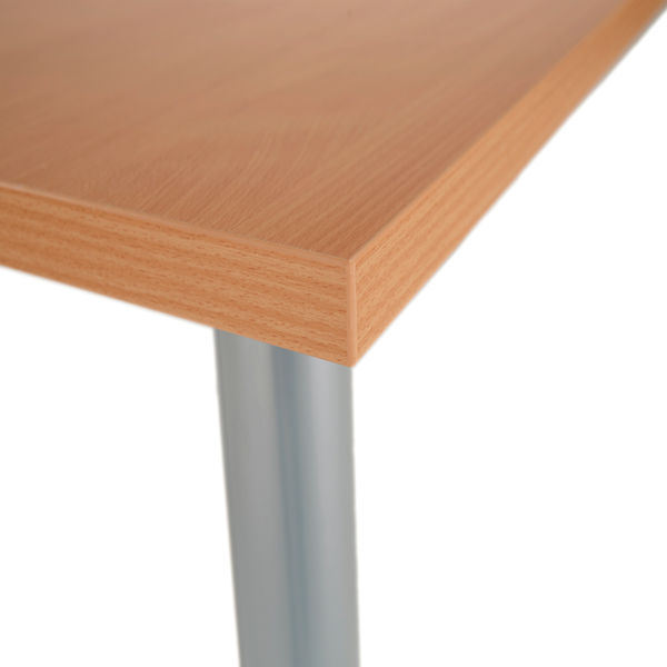 Jemini 1200mm Beech Rectangular Meeting Table