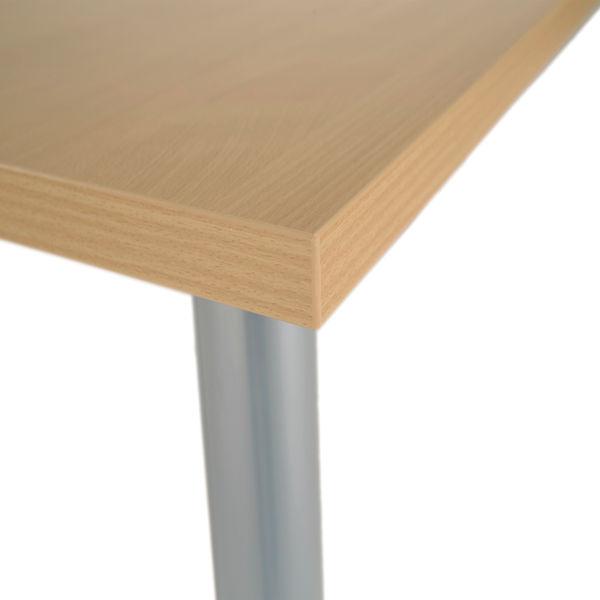 Jemini 1200mm Nova Oak Rectangular Meeting Table