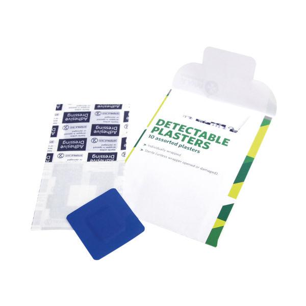St John Ambulance Detectable Plasters (Pack of 10) – F94025