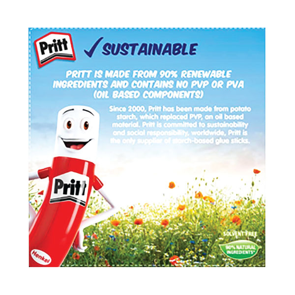 Pritt Stick 22g Original, Pack of 6 | 10456071