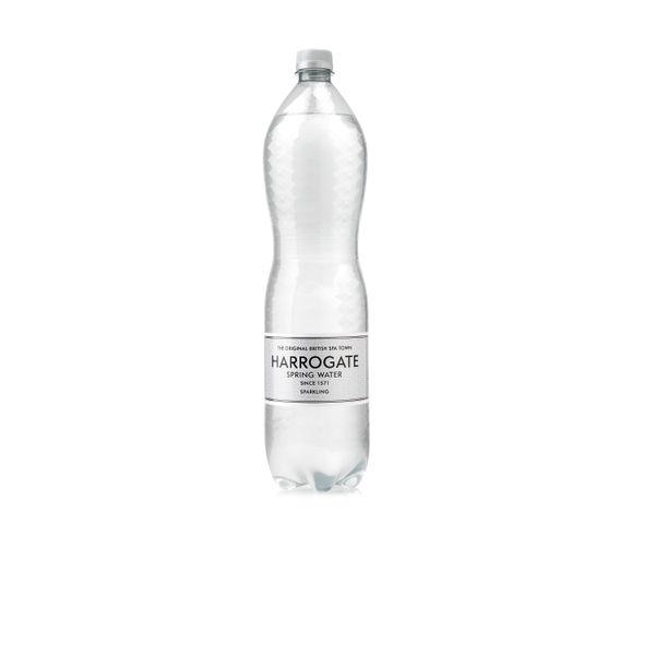 Harrogate Spa Sparkling Spring Water 1.5l Bottles - Pack of 12 - HSW35118